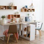 Фото 47: Письменный стол с перегородкой