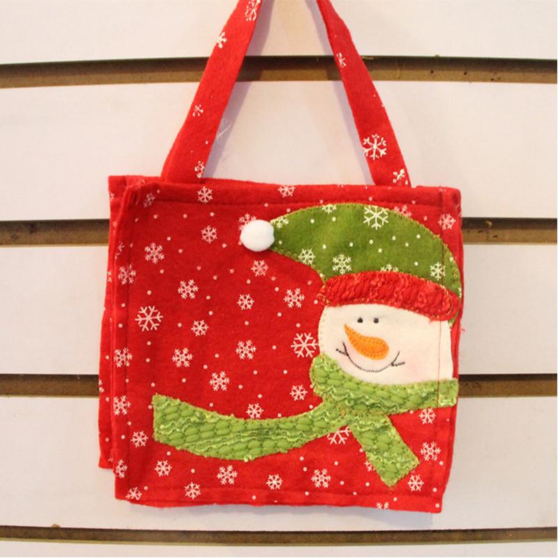 Новогодняя сумка своими руками из фетра