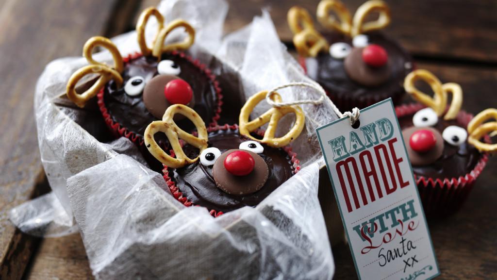 Новогодние кексы своими руками