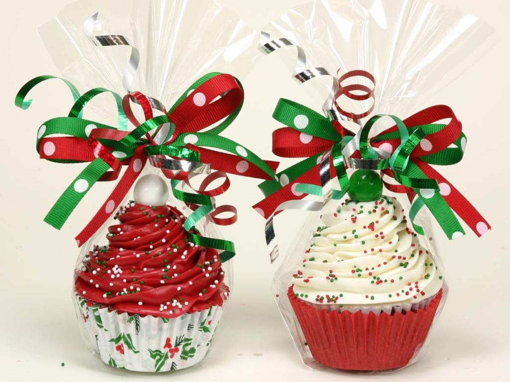 Новогодние кексы в подарок