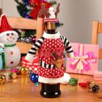 Фото 8: Украшение бутылки на рождество