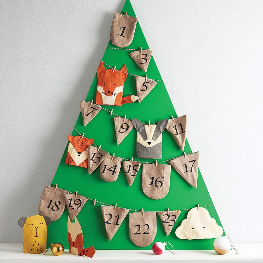 Рождественский календарь своими руками