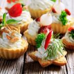 Фото 26: Тарталетки с салатом на Новый Год