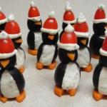 Фото 22: новогодние съедобные пингвины