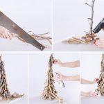 Фото 80: Елочка из веточек своими руками