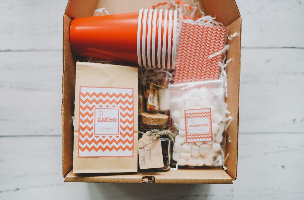 Праздничный набор для какао