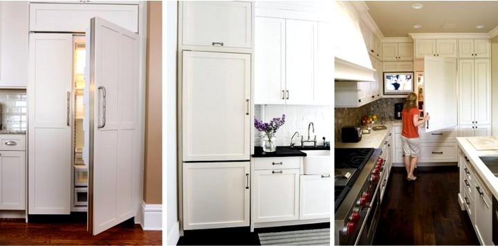 Встроенный холодильник4