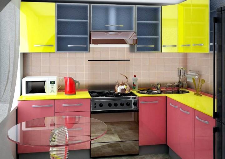 Дизайн кухни в хрущевке 3
