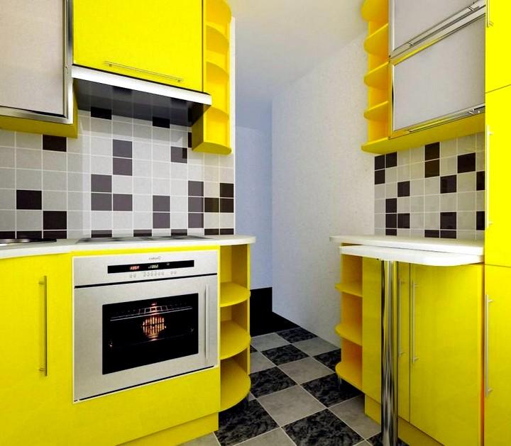 Дизайн современной кухни в хрущевках 2