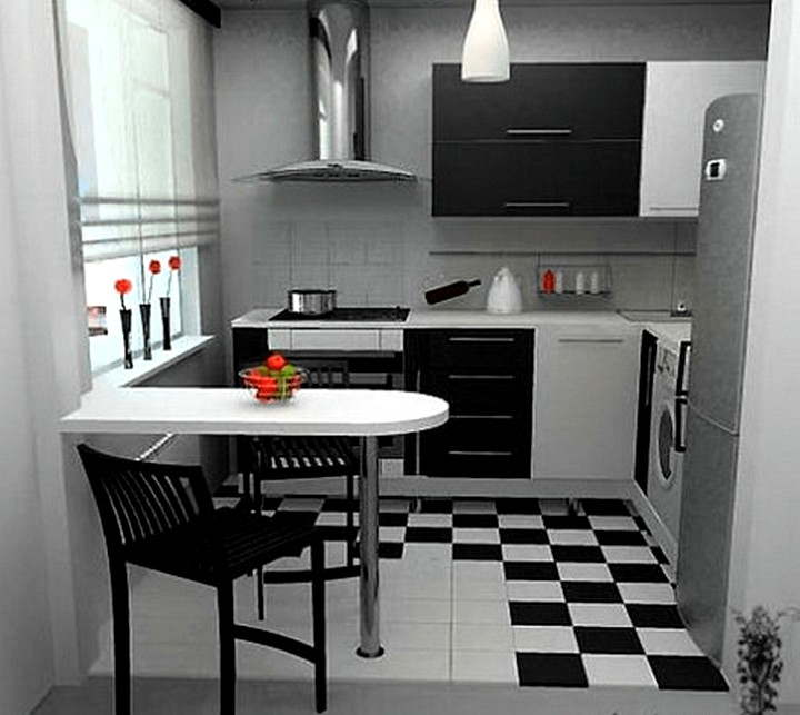 Дизайн современной кухни в хрущевках