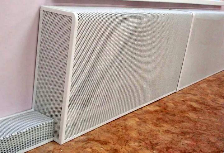 Металлические экраны для батареи отопления