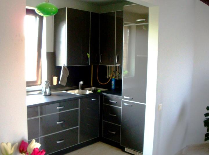 Холодильник встроенный в кухню