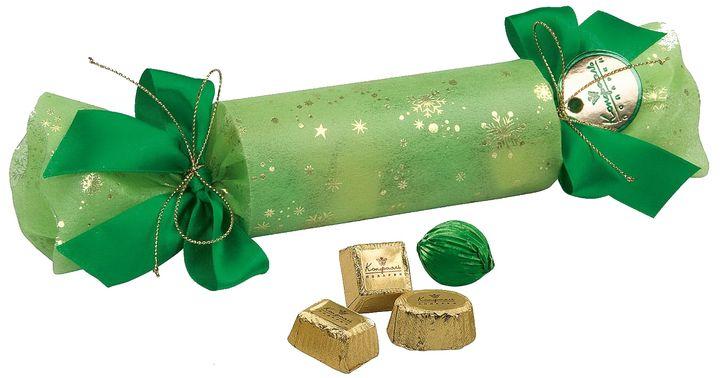 Новогодняя упаковка для сладостей в виде конфеты
