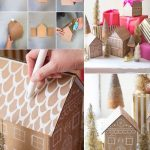 Фото 51: Коробочка–домик для подарка своими руками