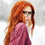 Фото 35: Натуральный рыжий цвет волос