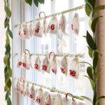 Фото 47: Новогодний Адвент календарь для окна своими руками