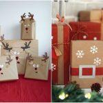 Фото 38: Украшение подарков аппликациями