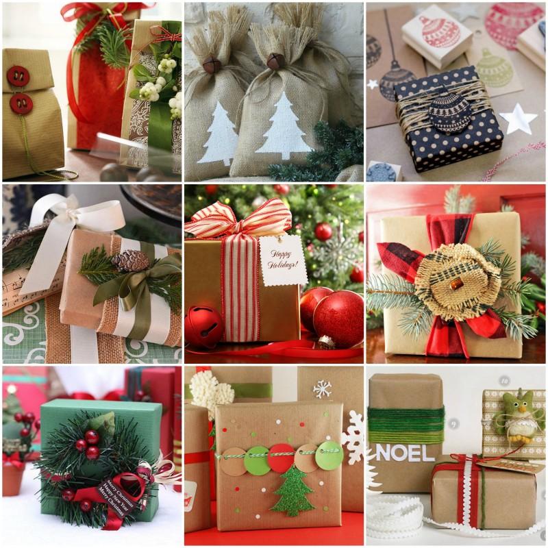 Декор новогодней упаковки