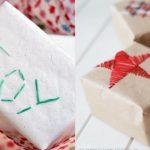 Фото 34: Декор упаковки вышивкой