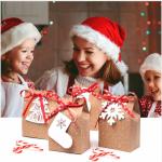 Фото 27: Новогодний декор упаковки вытынанками