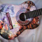 Фото 33: Декупаж гитары