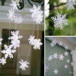 Фото 26: Гирлянды из снежинок