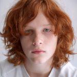 Фото 74: Каре на рыжие волосы