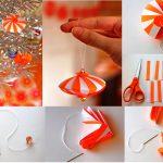Фото 79: Новогодняя игрушка из бумаги своими руками