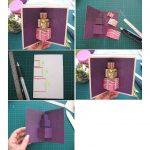 Фото 53: Изготовление объемной открытка с новогодними подарками