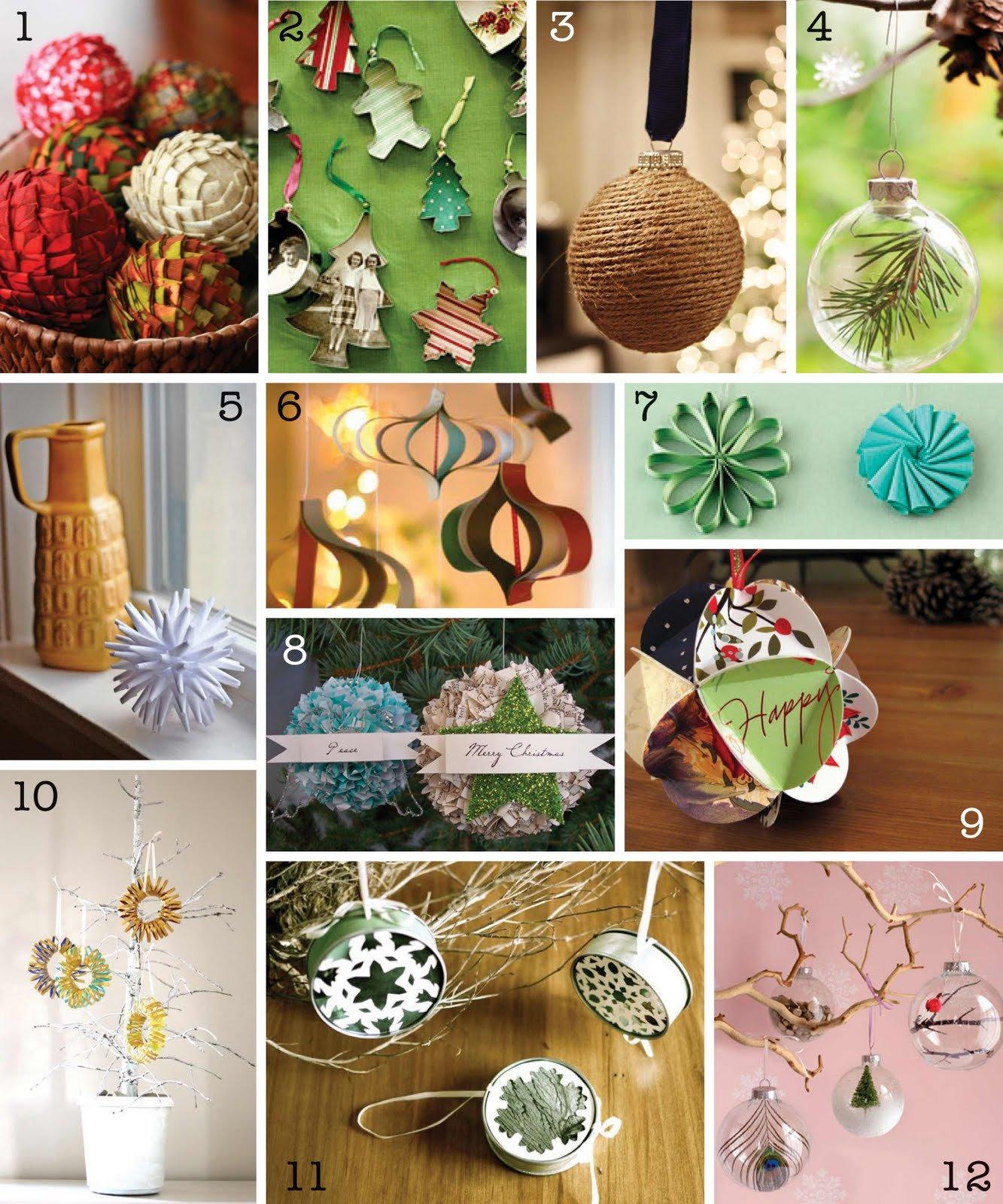 Разнообразные поделки к Новому году