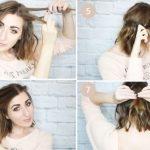 Фото 58: Плетение кос для простой прически из каре
