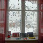 Фото 57: Роспись окна