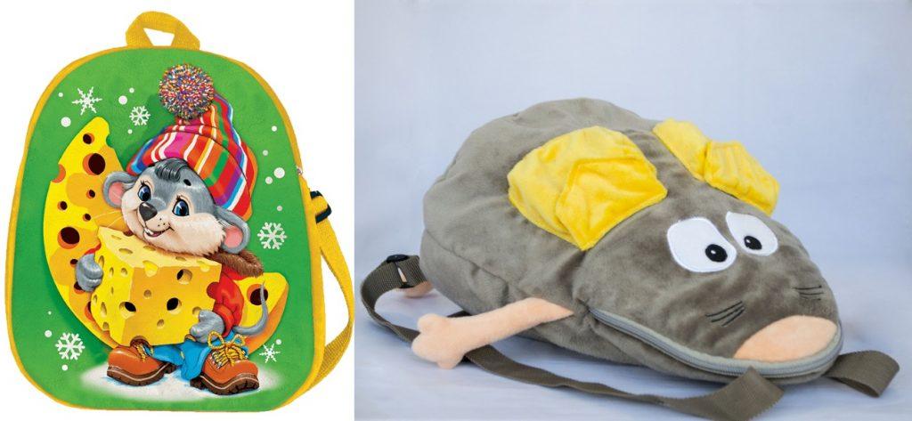 Рюкзачки в виде мышек