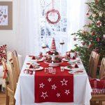 Фото 26: Скатерть для новогоднего стола