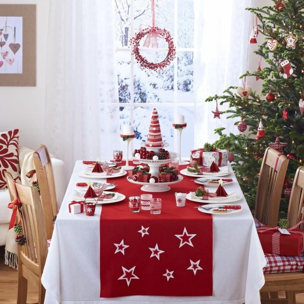 Скатерть для новогоднего стола