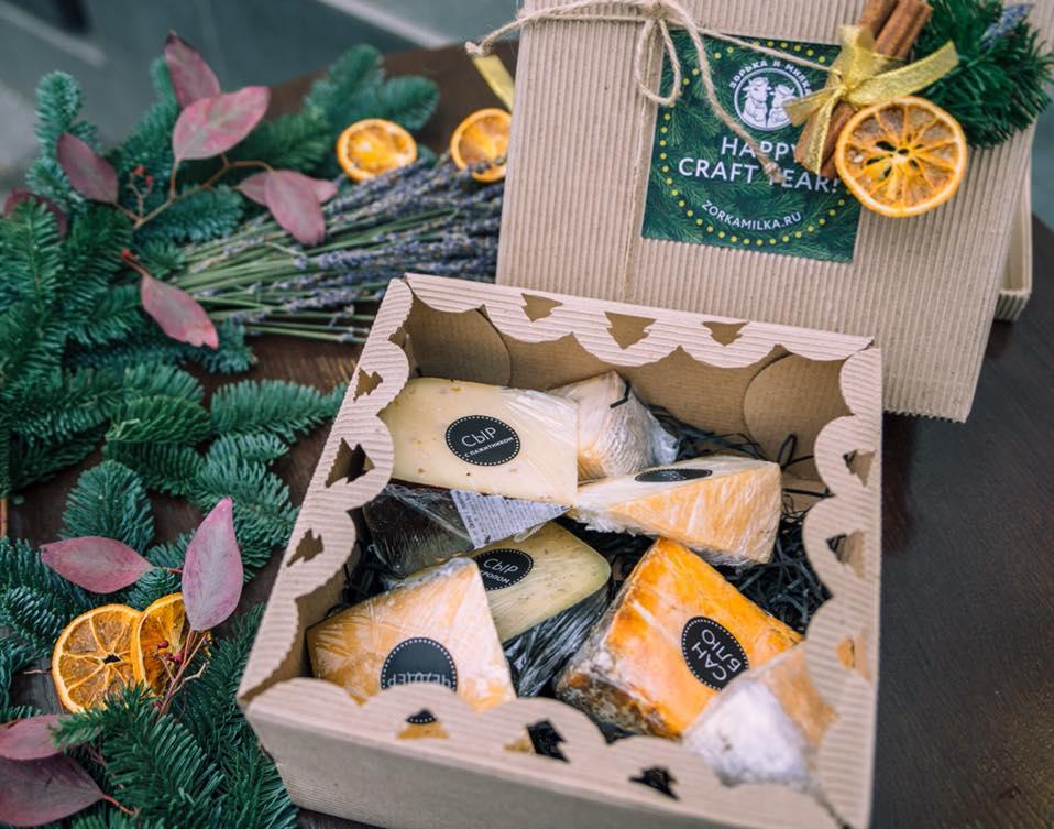 Сыр в подарок на Новый Год
