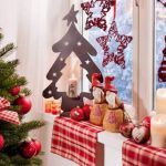 Фото 68: Новогоднее украшение окна