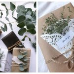 Фото 46: Украшение подарка живыми растениями