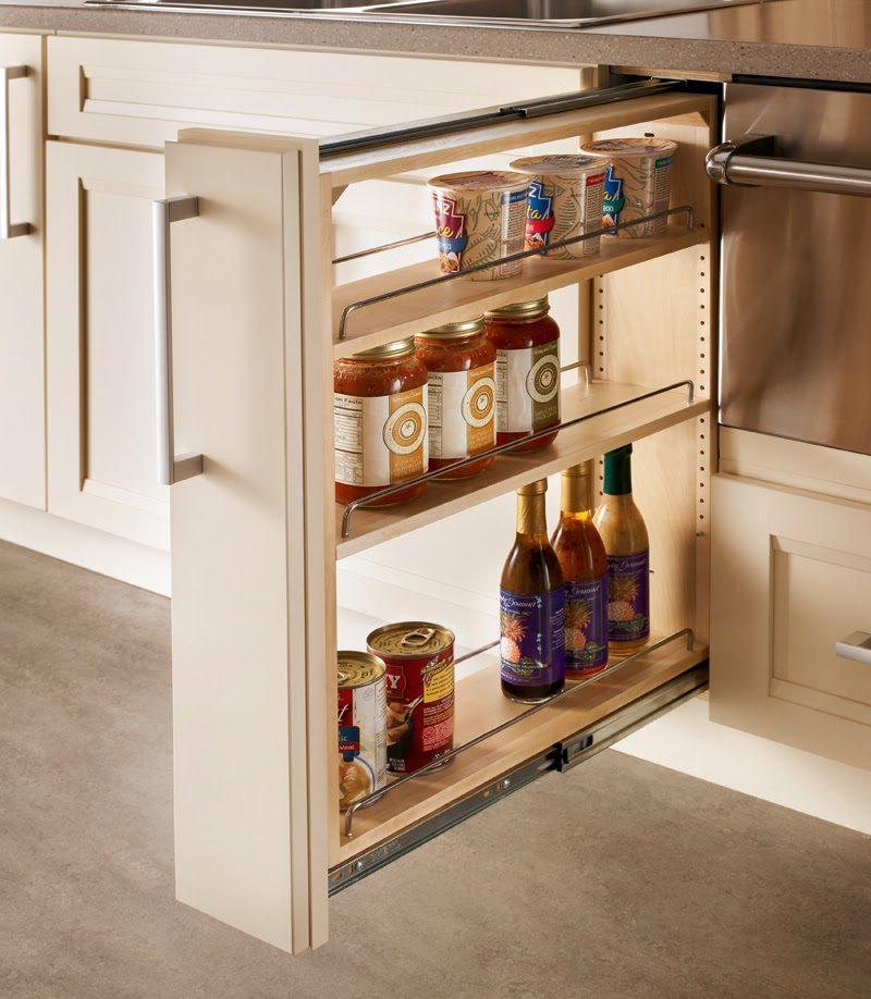 Выдвижной модуль для кухни