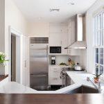Фото 77: Использование зоны кухни для подоконника