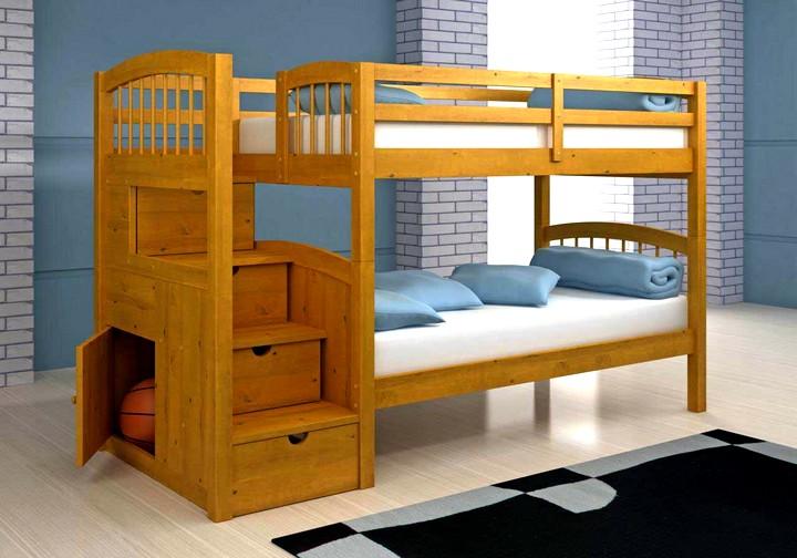 Двухъярусная кровать для детей 2