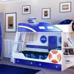 Фото 1: Двухъярусная кровать кораблик