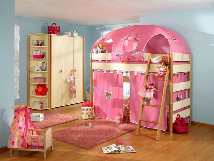 Детские кроватки для девочек 4