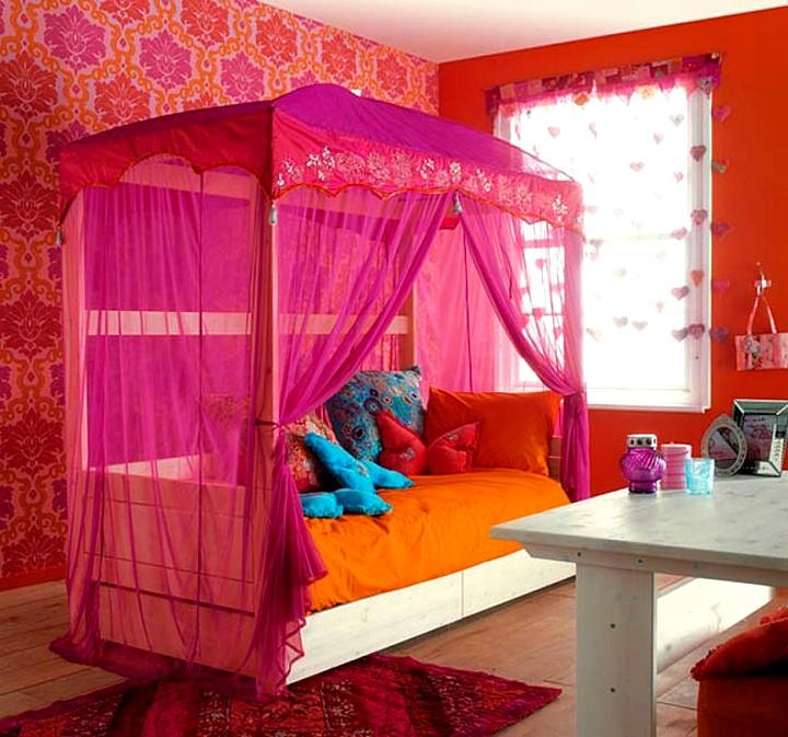 Детские кроватки для девочек