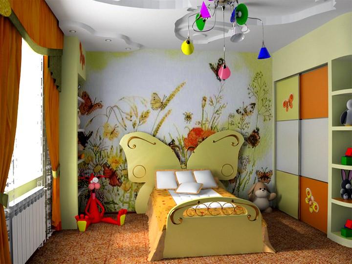 оформление детской комнаты 3