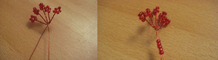 Плетение тычинок гибискус 1
