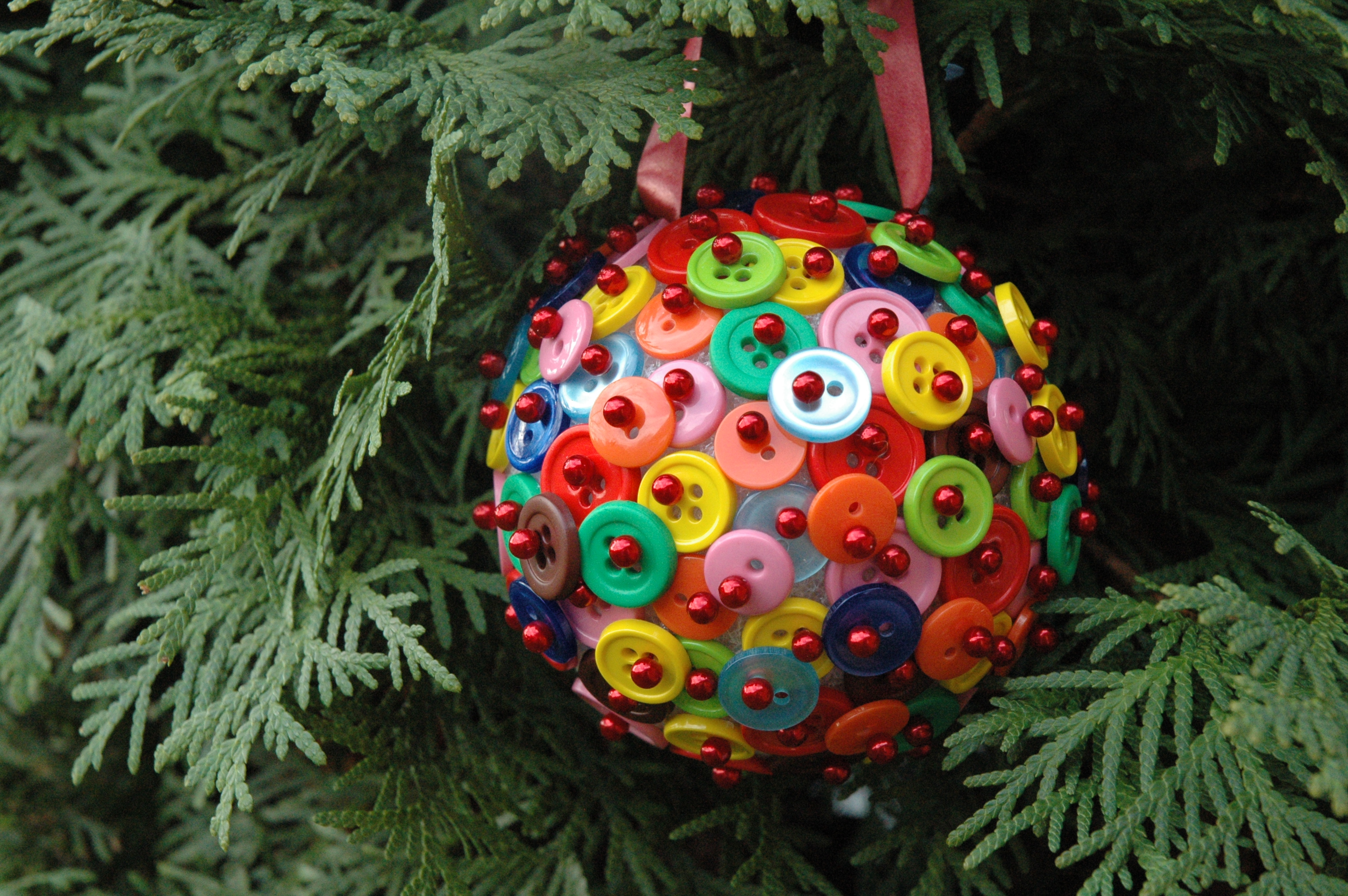 Новогодний шарик своими руками