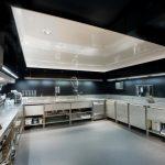 Фото 54: Черно-белый натяжной потолок