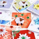 Фото 52: Новогодние открытки в технике квиллинг