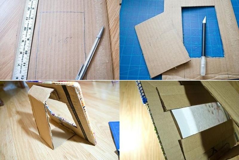 Изготовление рамки из картона